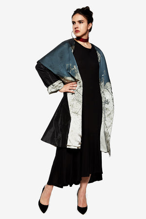 Reversible Doha Cape Coat