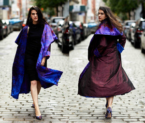 Reversible Kabul Cape Coat