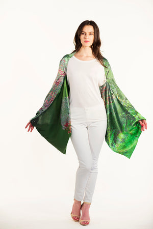 Los Angeles Silk Sleeve Scarf/Shawl/Top/Scarf