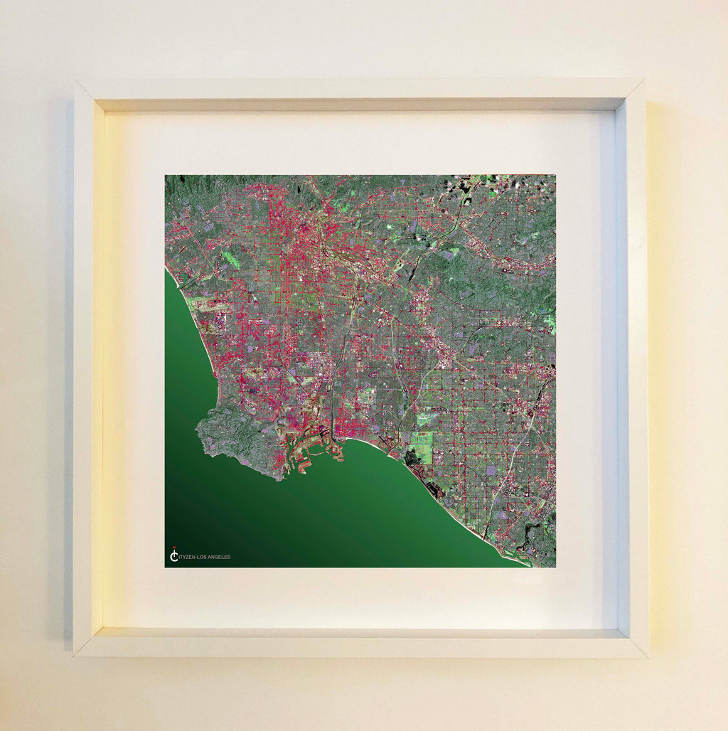 Los Angeles Framed