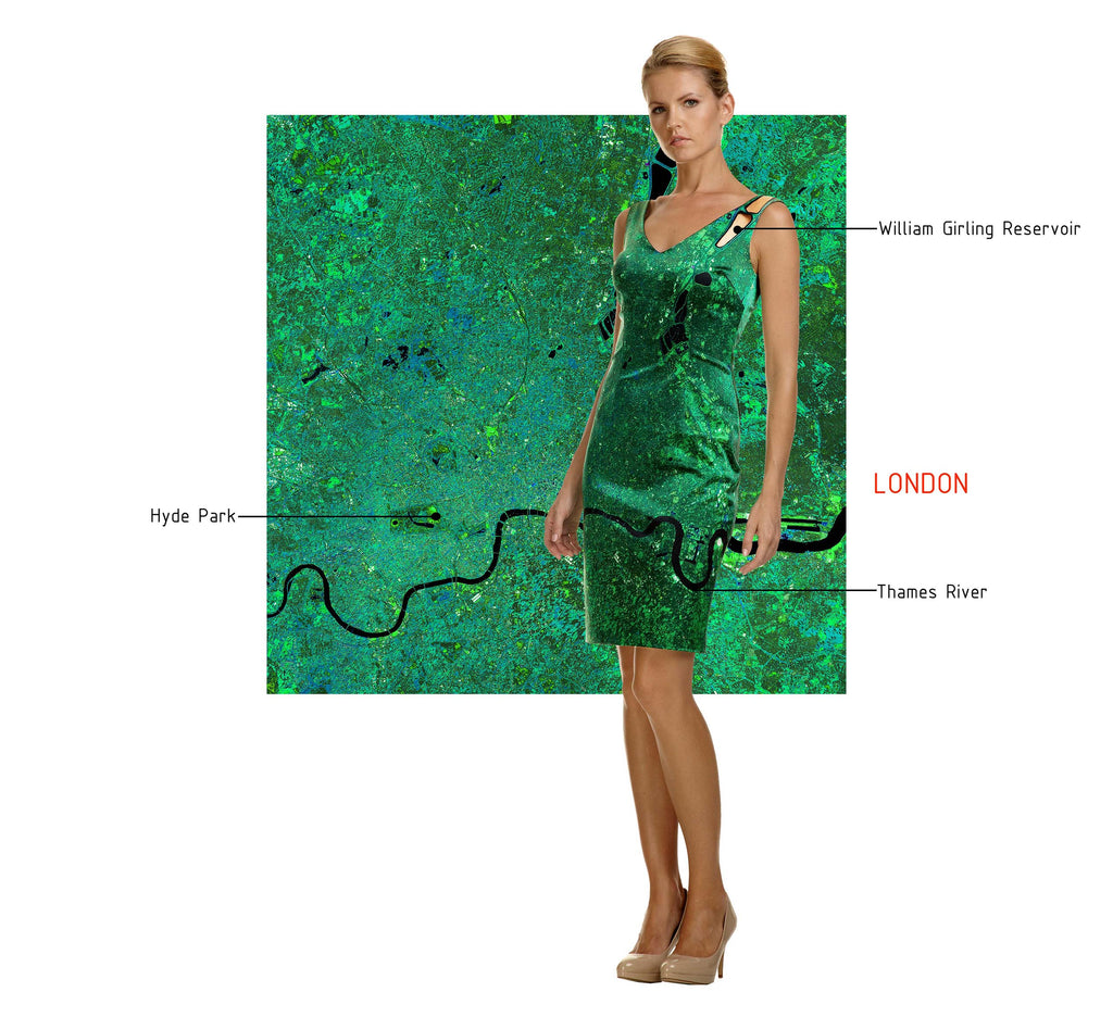 London Silk Dress, Cocktail dress
