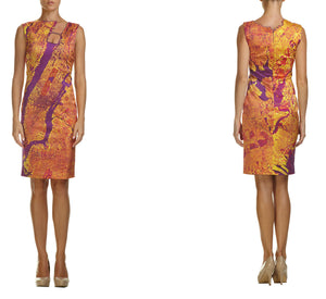 New York Silk Cocktail Dress