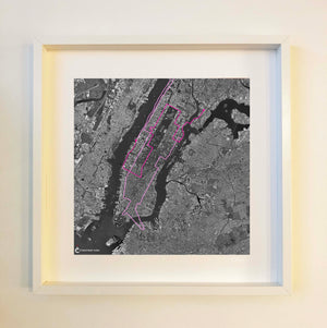 New York Black Framed