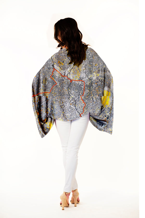 Berlin sleeve scarf/top/shawl