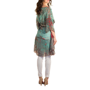 Paris Silk Kaftan/Caftan