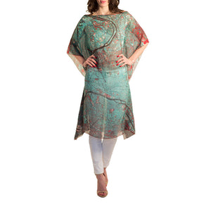 Paris Blue Kaftan