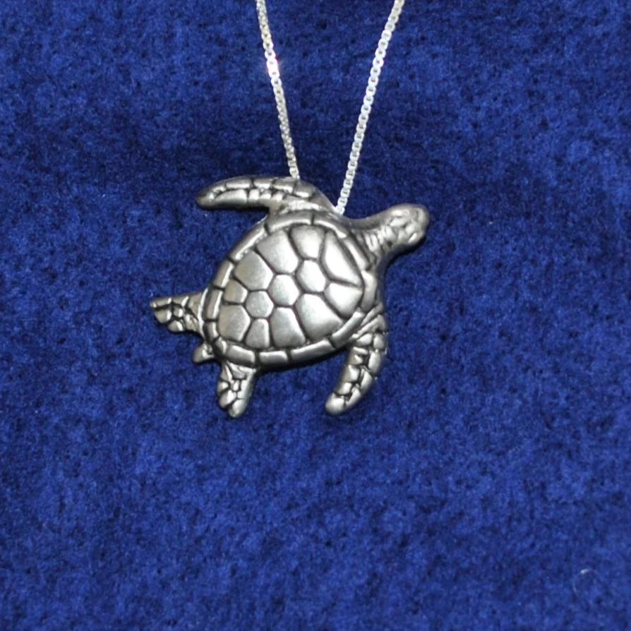 Pewter Jewlery - Tortuga Necklace