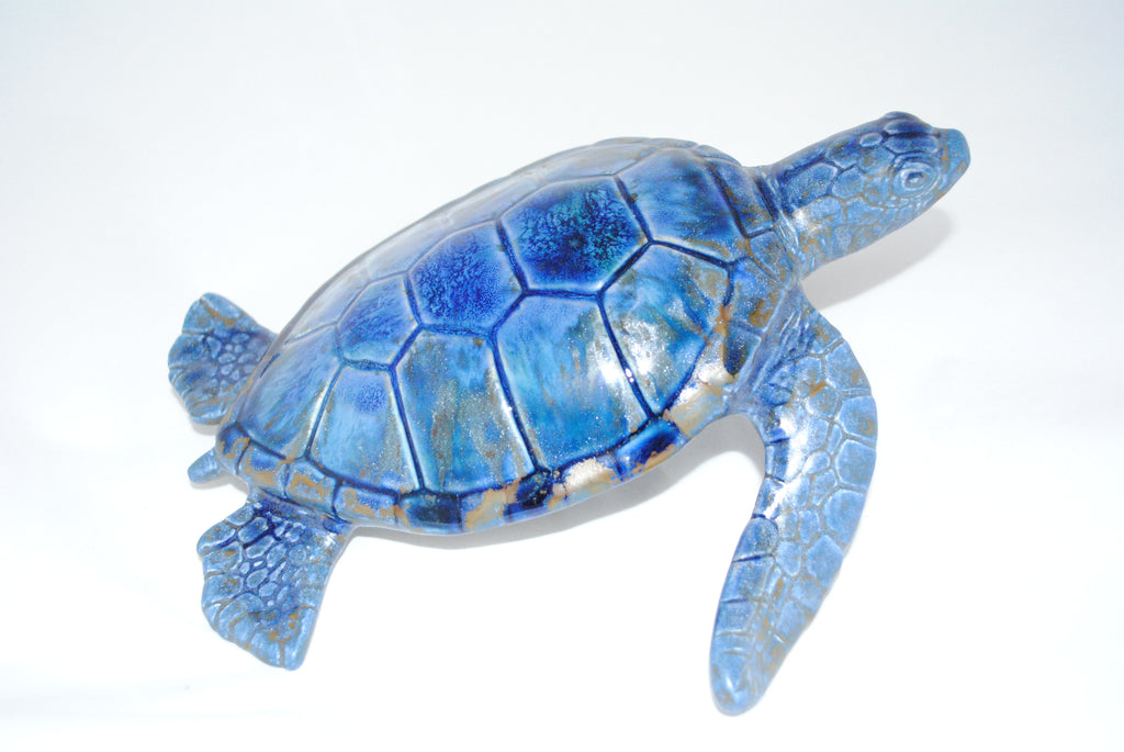 Tortuga Del Mar - Ceramic Sculpture