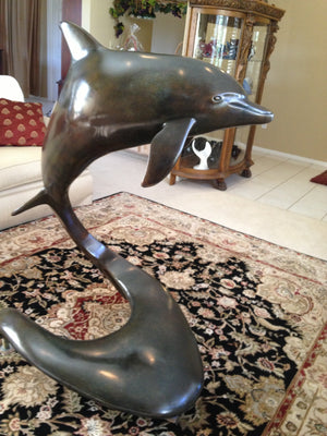 Bronze Sculpture - Delphis 4'