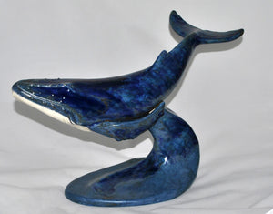 Unity - Blue  Ceramic Sculpture