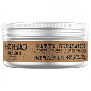 Bedhead For Men Matte Separation Workable Wax Matte 2.8oz.. - Totally Refreshed Steam and Spa