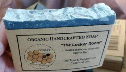 """""""The Locker Room""""- Activated Bamboo Charcoal Sports Soap"""
