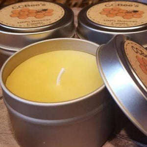 3.5oz Beeswax Candle - Totally Refreshed Steam and Spa