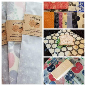Organic Cotton Beeswax Food Wraps - Totally Refreshed Steam and Spa