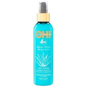 CHI Aloe Vera Curls Defined Humidity Resistant Leave In Conditioner 6oz - Totally Refreshed Steam and Spa