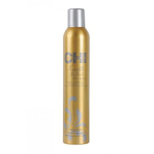 CHI Keratin Flex Finish Hair Spray 10oz - Totally Refreshed Steam and Spa