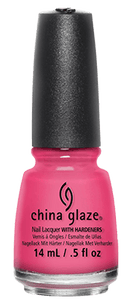 Shocking Pink - China Glaze - Totally Refreshed Steam and Spa