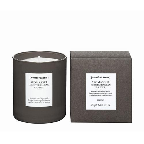 Aromasoul Mediterranean Candle - Comfort Zone - Totally Refreshed Steam and Spa