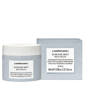 Sublime Skin Rich Cream - Comfort Zone - Totally Refreshed Steam and Spa
