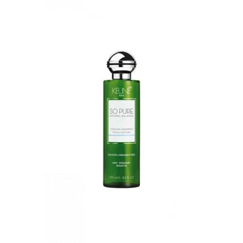 Keune So Pure Cooling Shampoo - Totally Refreshed Steam and Spa