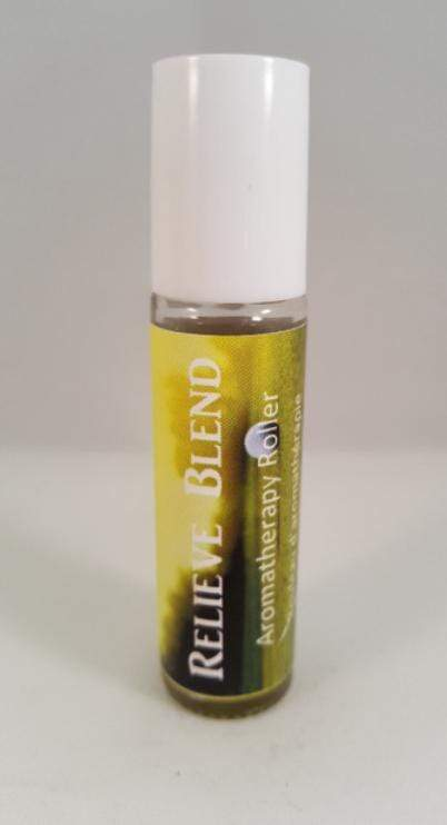 Relieve Blend Aromatherapy Roll-On - Totally Refreshed Steam and Spa