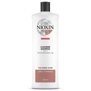 Nioxin System 3 Cleanser Shampoo - Totally Refreshed Steam and Spa