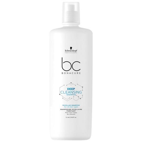 BC Bonacure Deep Cleansing Micellar Shampoo - Totally Refreshed Steam and Spa