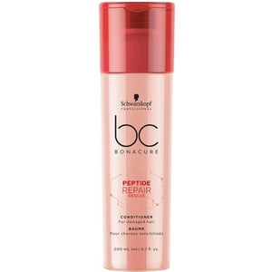 BC Bonacure Peptide Repair Rescue Conditioner - Totally Refreshed Steam and Spa