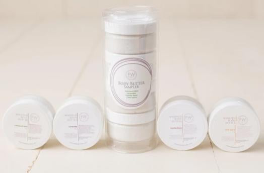 BABY BUTTER SAMPLER - Totally Refreshed Steam and Spa