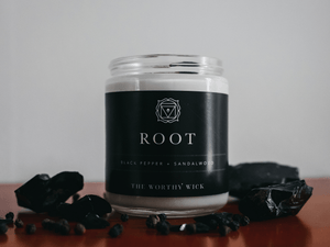 ROOT CHAKRA CANDLE - Totally Refreshed Steam and Spa