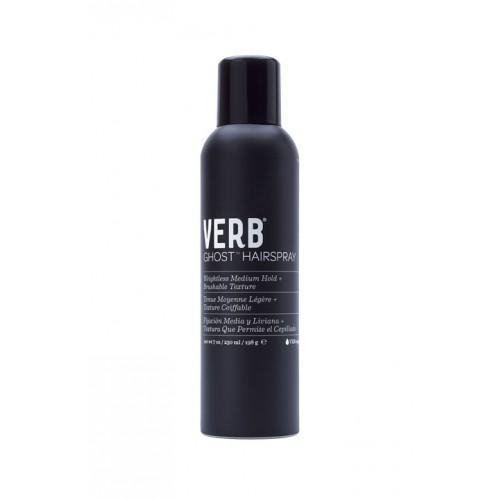 Verb Ghost Medium Hold Hairspray 7oz - Totally Refreshed Steam and Spa