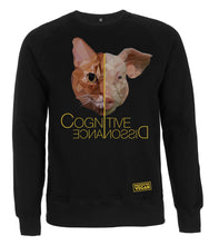 Prototype Vegan sweatshirt - Cat Lover - Unisex Black