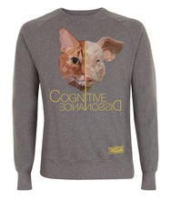Prototype Vegan sweatshirt - Cat Lover - Unisex Dark Heather
