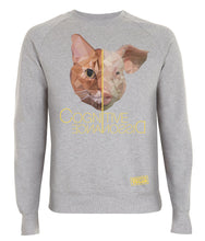 Prototype Vegan sweatshirt - Cat Lover - Unisex Light Heather