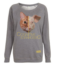 Prototype Vegan sweatshirt - Cat Lover - Women's Dark Heather