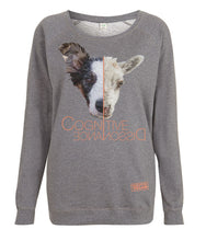 Prototype Vegan sweatshirt - Dog Lover - Women's Dark Heather
