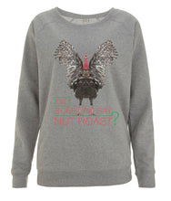 Prototype Vegan sweatshirt - Happy Turkey - Women's Light Heather
