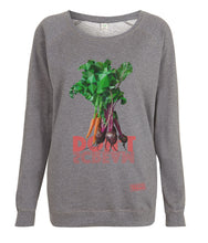 Prototype Vegan sweatshirt - Veggies Don't Scream - Women's Dark Heather