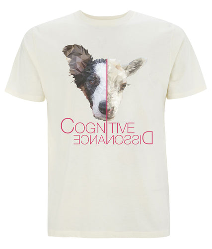 Prototype Vegan tee - Dog Lover - Unisex Ecru