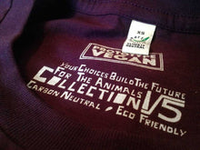Prototype Vegan label - For the Chicks - Unisex Eggplant
