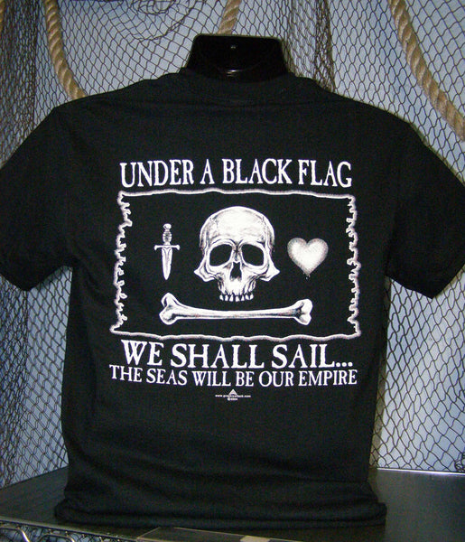 Pirate T-Shirt - Under a Black Flag