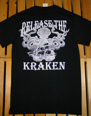 T-Shirt - Release the Kraken Black