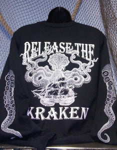 Sweatshirt - Release the Kraken Black