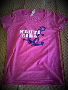 Ladies Tee - Nauti Girl