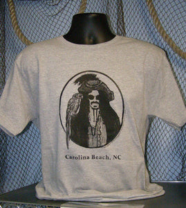 Pirate T-Shirt - Capt Stosh Carolina Beach