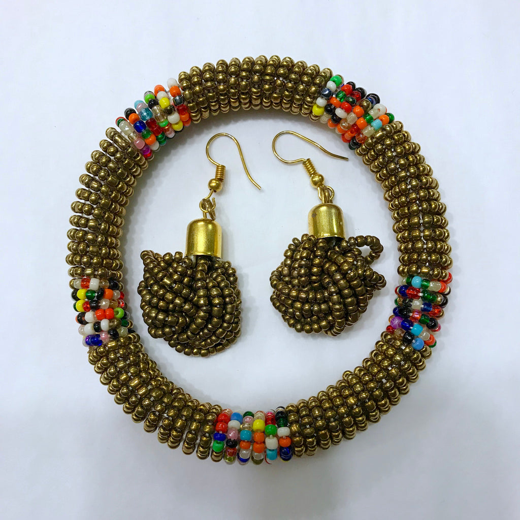 Msichana:Set: earrings + bangle