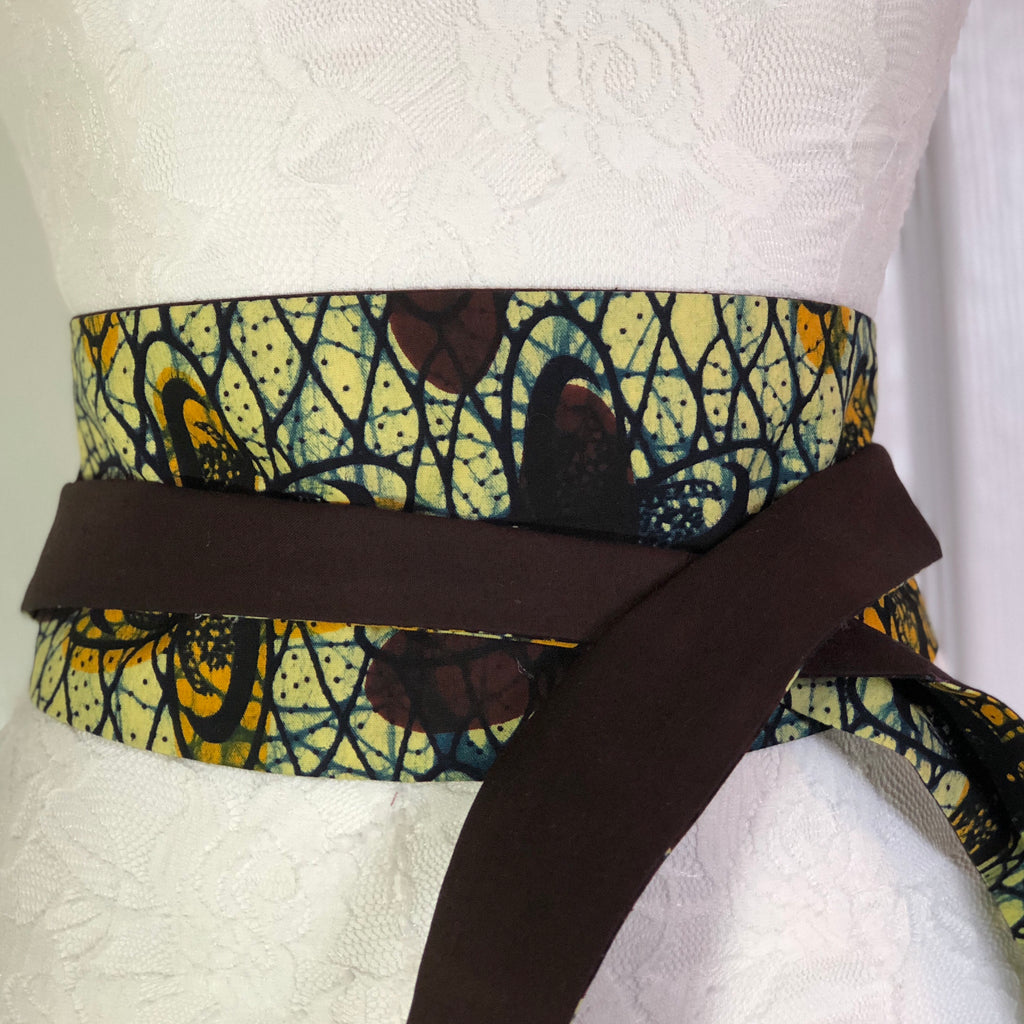 Msichana:Reversible Wrap Belt - chocolate