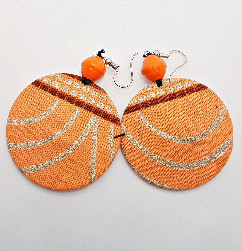 Msichana:Coming Full Circle earrings,blush