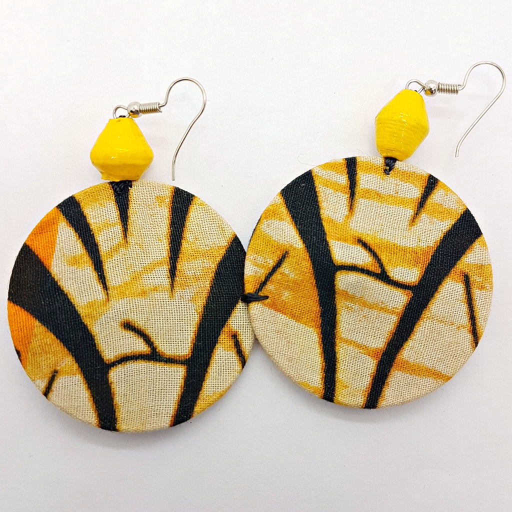 Msichana:Coming Full Circle earrings,Tiger