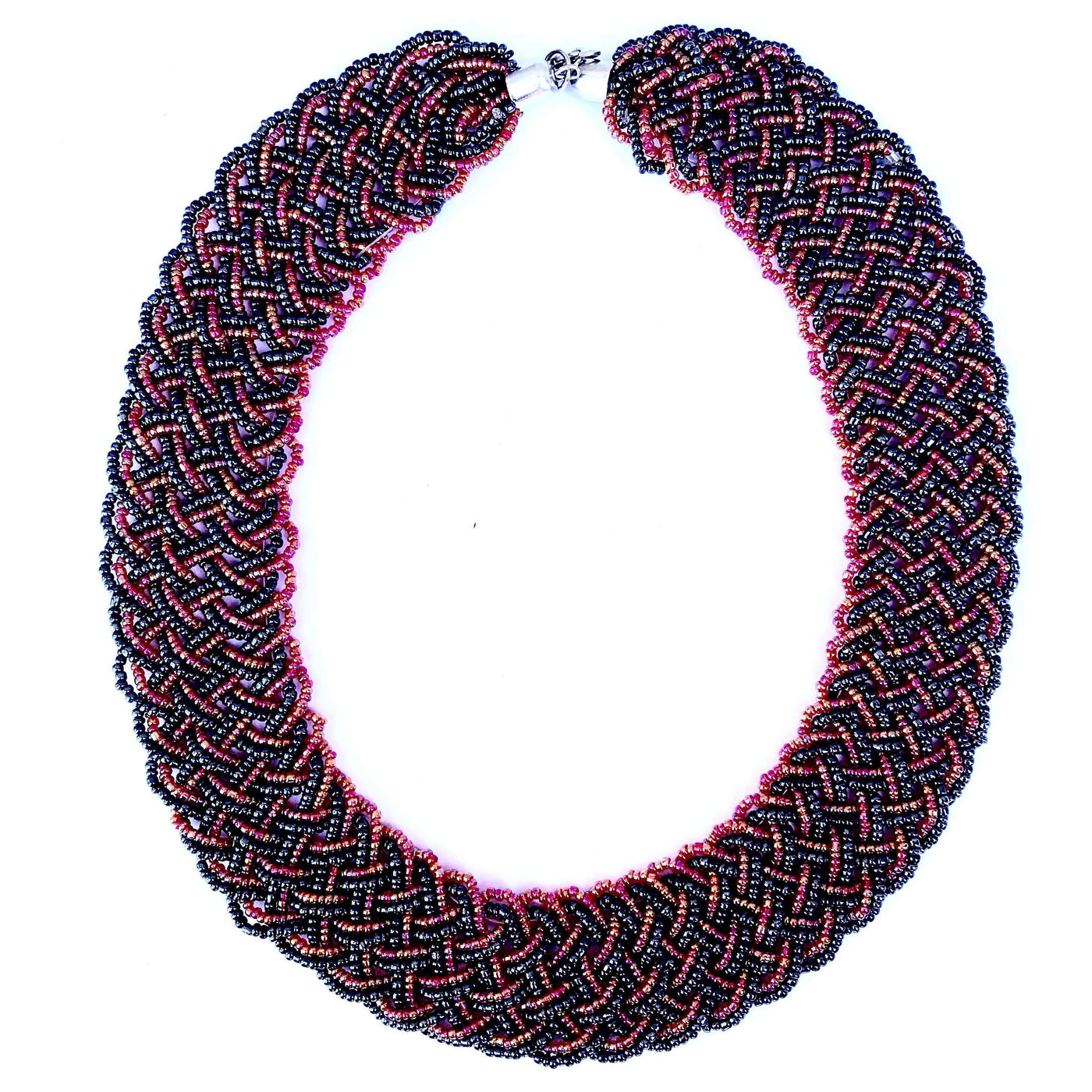 c5a9f0e6a69d2a ... Msichana:Bead collar necklace,Irridiscent ...